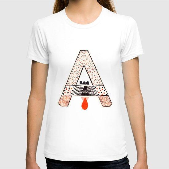 """a to z - """"A"""" T-shirt"""
