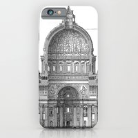 iPhone Cases featuring St. Peter Basilica - Rome, Italy by Palazzo Art Gallery