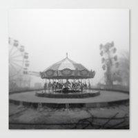 Silent Beach Park Canvas Print