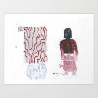Executioner's mom Art Print