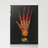 Nightmare on Elm St. Stationery Cards