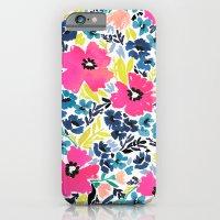 Watercolor Floral iPhone 6 Slim Case