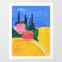 Corfu, A Homage To My Fa… Art Print