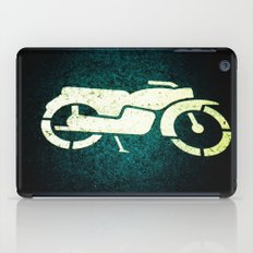Scooter Parking iPad Case