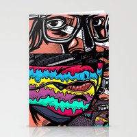 Bass Brothers Album cover  Stationery Cards