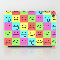 Smiley Chess Board iPad Case