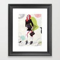 Meet Me At Midnight Framed Art Print