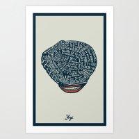 Yogi Art Print