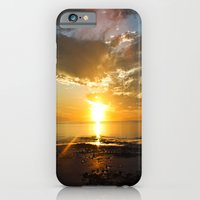 iPhone & iPod Case featuring sunset over Broome by Theresia Pauls