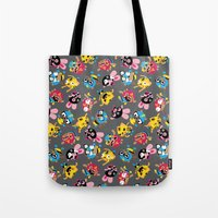 Wrestling Academy pattern Tote Bag