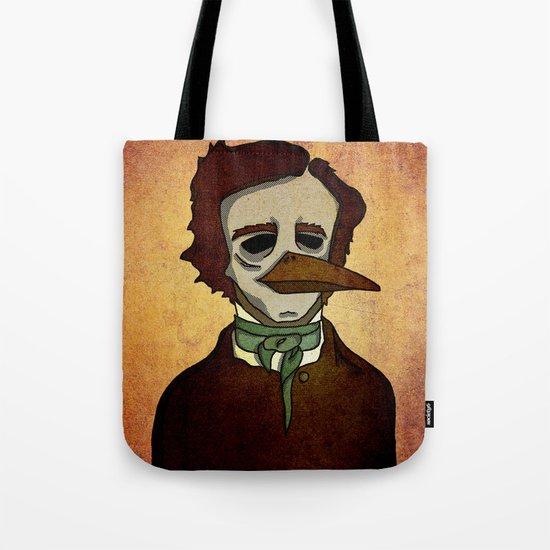 Prophets of Fiction - Edgar Allan Poe /The Raven Tote Bag