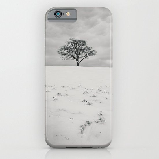 White Winterscape iPhone & iPod Case