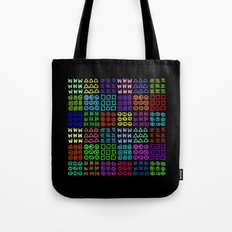 Aztec Wannabe (Black) Tote Bag