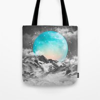 It Seemed To Chase the Darkness Away (Guardian Moon) Tote Bag