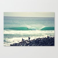 Morning Barrel Canvas Print