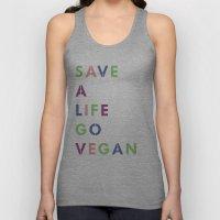 Go Vegan Unisex Tank Top