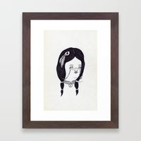 Apache Wife Framed Art Print