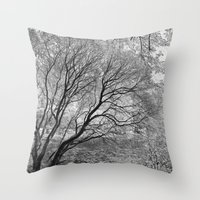 Illusion Of Winter Throw Pillow