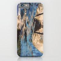 iPhone Cases featuring La nageuse by Sébastien BOUVIER