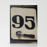 95 Coffee Stationery Cards