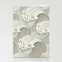 waves Stationery Cards featuring waves by Vickn