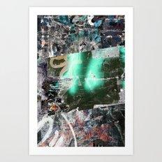 Collide 12 Art Print