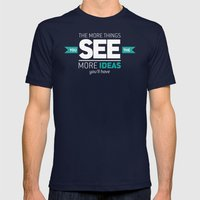 ...The More Ideas You'll Have Mens Fitted Tee Navy SMALL