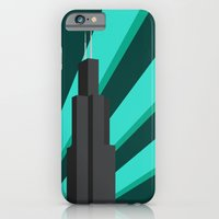 iPhone & iPod Case featuring Sears Tower by Drix Design