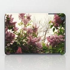 Lilacs iPad Case