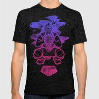 Dreamcatcher Mens Fitted Tee Tri-Black SMALL