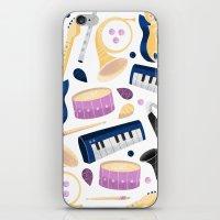 Band Practice iPhone & iPod Skin