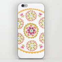 Suzani inspired floral 4 iPhone & iPod Skin