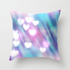 Your Love is Sweet Like Candy Throw Pillow
