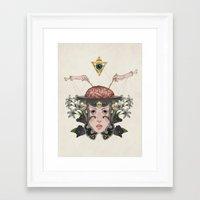 9-5 Framed Art Print