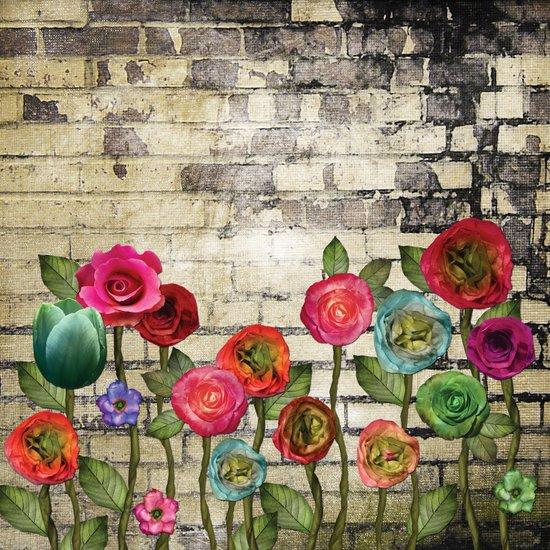 Wallflowers 1 Art Print