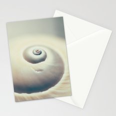 Moon Shell Stationery Cards