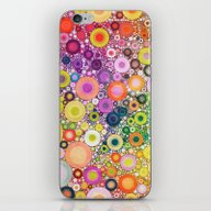 Summer Circles iPhone & iPod Skin