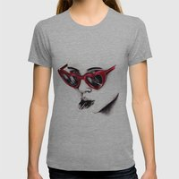 Lolita  Womens Fitted Tee Athletic Grey SMALL