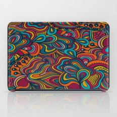 Abstract Waves iPad Case