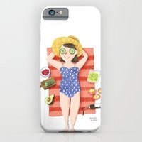 Summer sun iPhone 6 Slim Case
