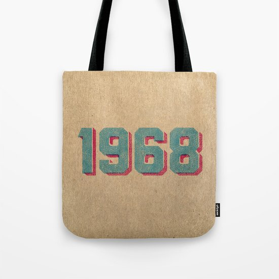 Vintage 1968 Tote Bag