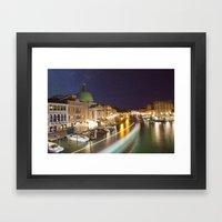 Goodnight Venice Framed Art Print