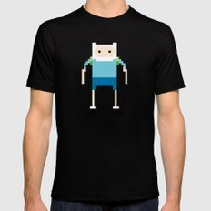 Finn SMALL Black Mens Fitted Tee