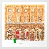 BEDFORD CHAMBERS Art Print