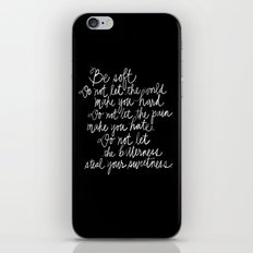 Be Soft iPhone & iPod Skin