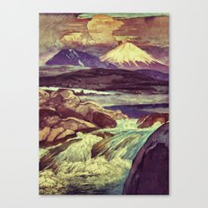 The Rising Fall Canvas Print