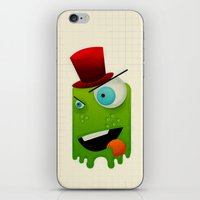Scary Monster iPhone & iPod Skin