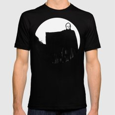 Nothing Escapes Me, No One Escapes Me Black Mens Fitted Tee SMALL