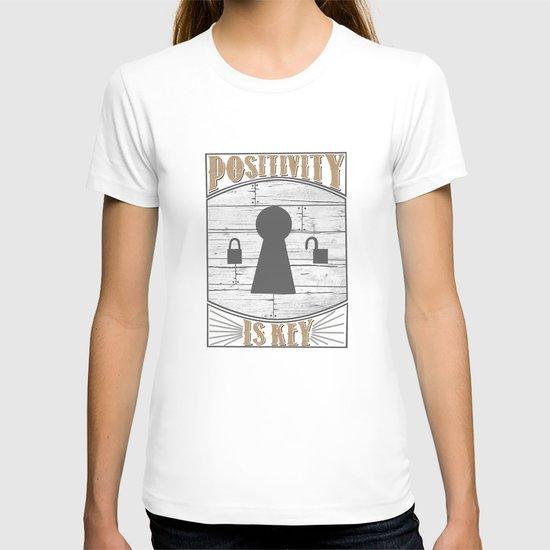 Positivity Is Key v.2 T-shirt