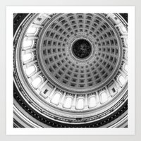Wisconsin Capitol Dome Art Print